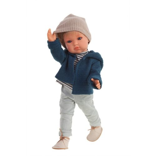 antonio juan ben with jacket boy