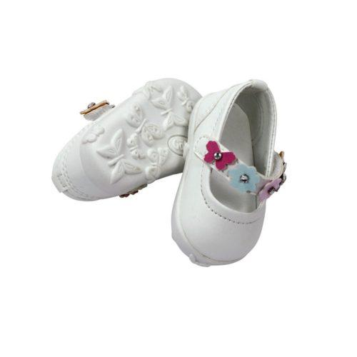 Gotz white dolls shoes