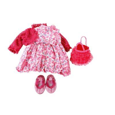 gots pink rose dress