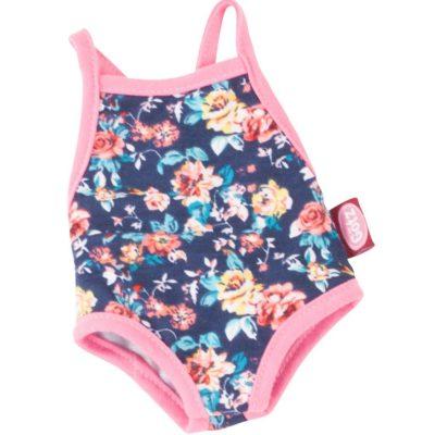 gotz navy floral swimsuit