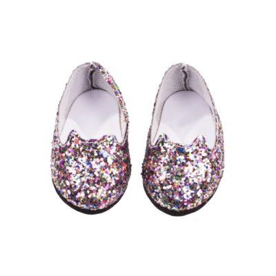 gotz mulitcoloured glitter shoes 30-33cm