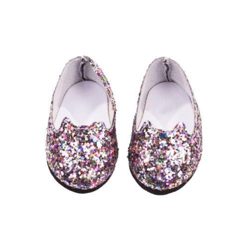 gotz mulitcoloured glitter shoes 30-33cm