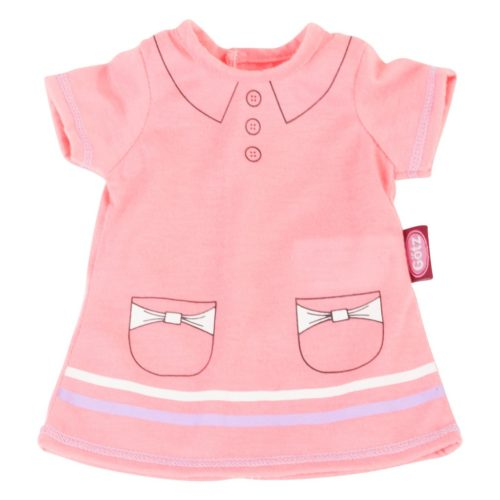 gotz basics pink polo dress 30-33cm