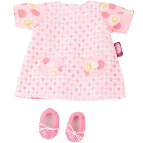 gotz pink daisy summer dress and shoes