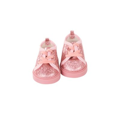 Gotz Sparkly pink shoes