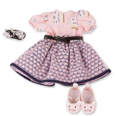 gotz pink cat dress