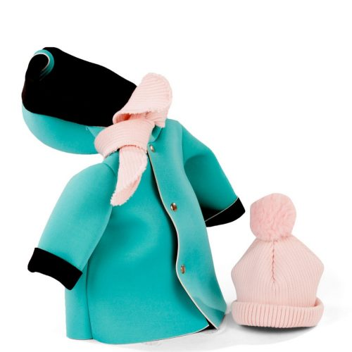 gotz coat, scarf and hat