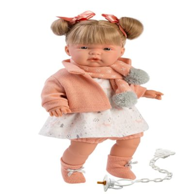 llorens Joelle crying baby girl doll