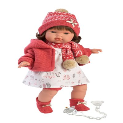 llorens lola crying baby girl doll