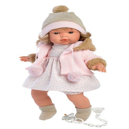 llorens susa crying baby girl doll