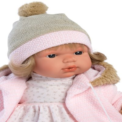 llorens susa crying baby girl doll