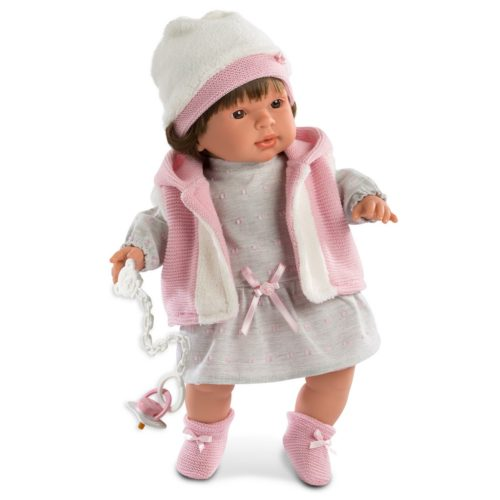 Llorens Carla crying baby girl doll
