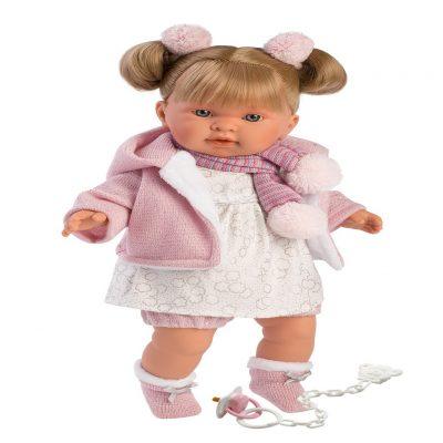 llorens alexandra crying baby girl doll