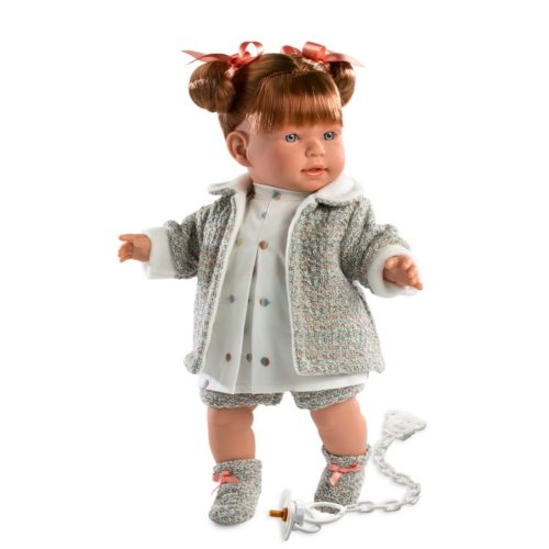 llorens amelie crying baby girl doll