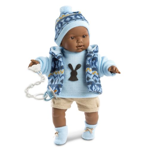 llorens zareb crying baby boy doll
