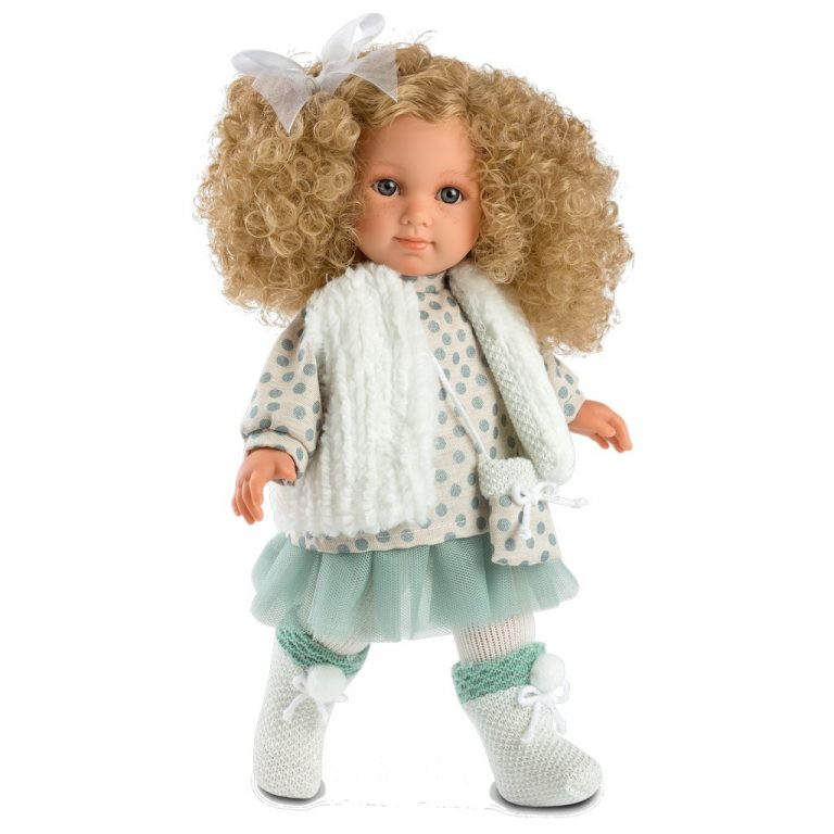 llorens elena blonde curly hair