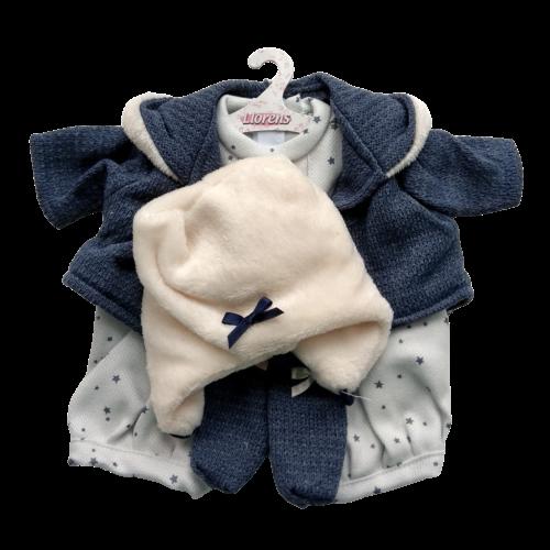 llorens dolls clothes blue star shorts