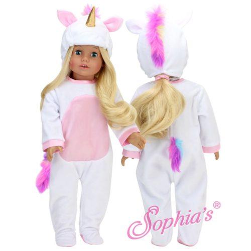 sophia's white unicorn