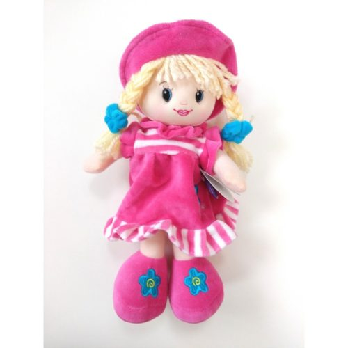 cuddles time ragdoll bright pink 30cm