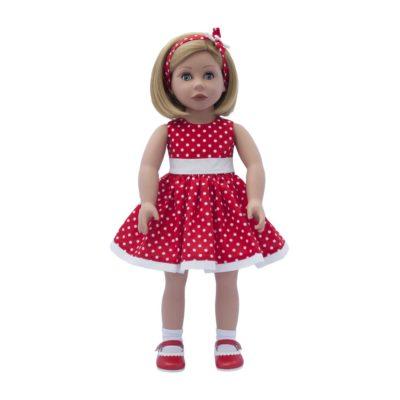bonnie and pearl Bonnie's red dress