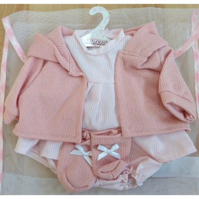 llorens dolls clothes set 8 for 42cm baby doll