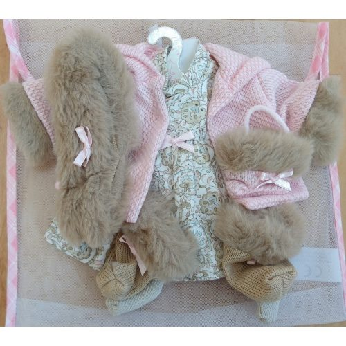 llorens dolls clothes set 9 for 42cm baby doll