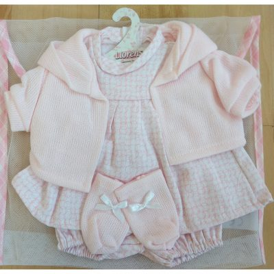 llorens dolls clothes set3 for 42cm baby doll