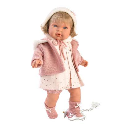 Llorens Carla Blonde Crying Baby Girl Doll