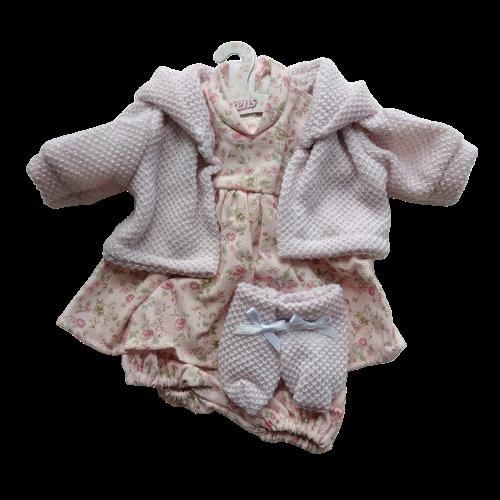 needlecord pink dress