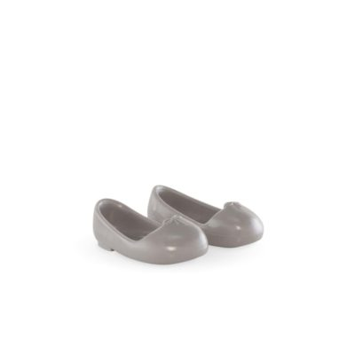 Corolle Grey Ballet Flat shoes for ma cherie creation dolls
