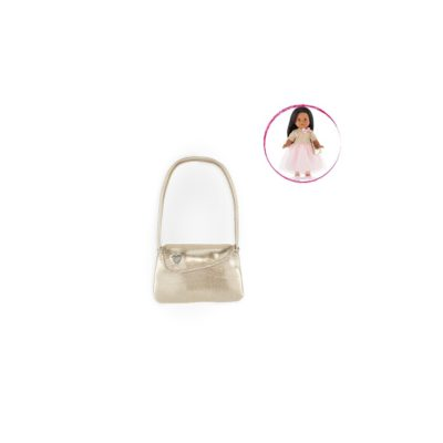 ma corolle gold party shoulder bag