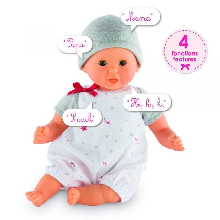 Corolle Mon Premier Bebe Calin Bisou Interactive Doll