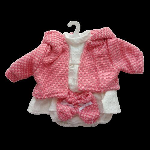 Llorens dolls clothes waffle dress