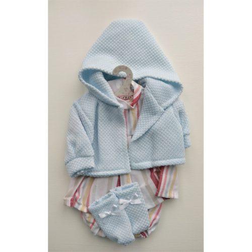 llorens dolls clothes stripey dress set